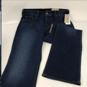 NEW Womens NYDJ Blue Jeans Barbara Bootcut Size 14